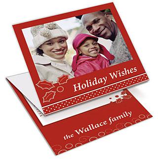 christmas calendar card