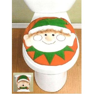 Christmas Bathroom Decorations Add Festive Color