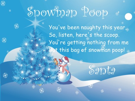 Printable Snowman Soup Poem and Snowman Poop Poem | Free ...