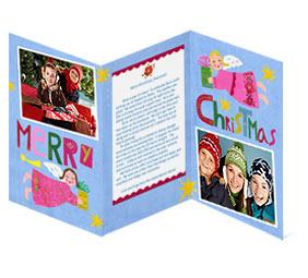 unique paper christmas cards